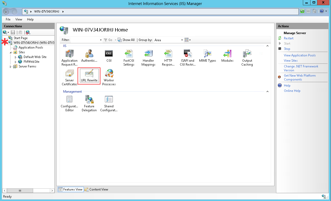 Configuring IIS for MirrorSync over SSL - 360Works Product